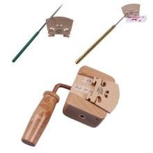 Инструменты для изготовления скрипки, мостовой нож, зажим для скрипки, струнные слоты, напильники
