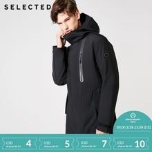 Selected Slade зимняя мужская съемная внутренняя подкладка со шляпой спортивная Лыжная хлопковая стеганая куртка SP | 418422506