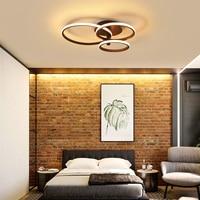 Minimalist art Modern Led Ceiling chandeliers For Bedroom led plafond home chandelier lighting luminaria de teto room light|Chandeliers|Lights & Lighting -