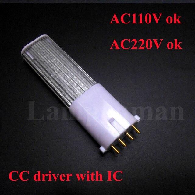 2G7 LED bulb 4W 6W 8W 10W tube lights SMD 2835 2G7 LED lamp AC85-265V Epistar chip 2g7 led light tube PL lamp 110V 220V 230V