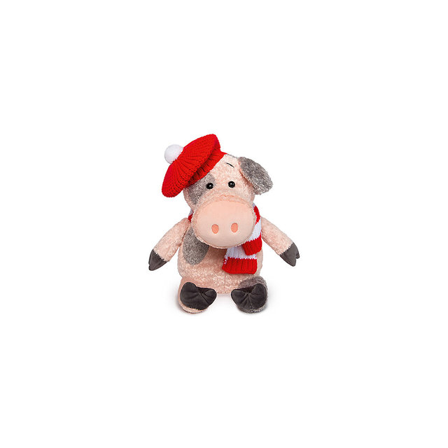 Мягкая игрушка Budi Basa Кабанчик Джони, 28 см