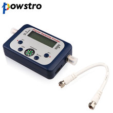 Powstro Universal GSF 9506 Digital Sat finder TV Satellite Finder Mini Antenna Satellite con Display LCD per TV