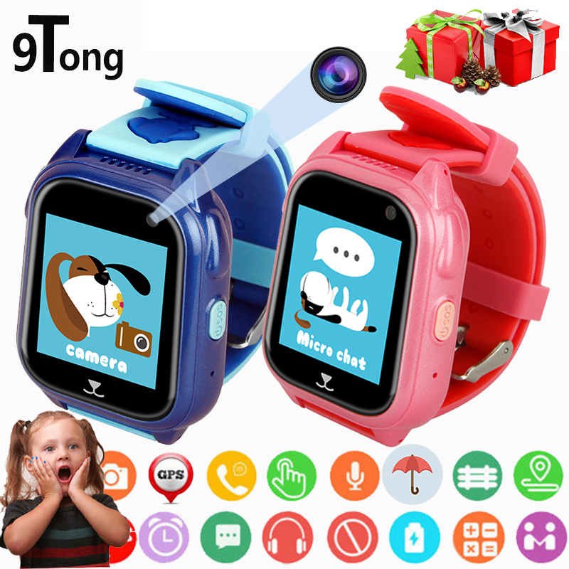Child Smart Watch Q90 GPS LBS Positioning Children Smart Watch 1.22 Inch Touch Screen SOS Clock Tracker for Kid Safe Monitor#C1 36