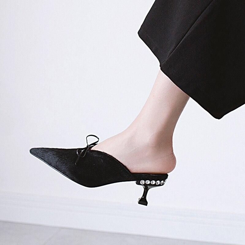 Chaussons Pointu D'été Hauts Cm Dames Femmes 6 Chaussures Black Talons Soirée D'emballage Mules 891 Sexy En Femme Escarpins leopard Cuir Boîte De toe gCwqq8xfvP