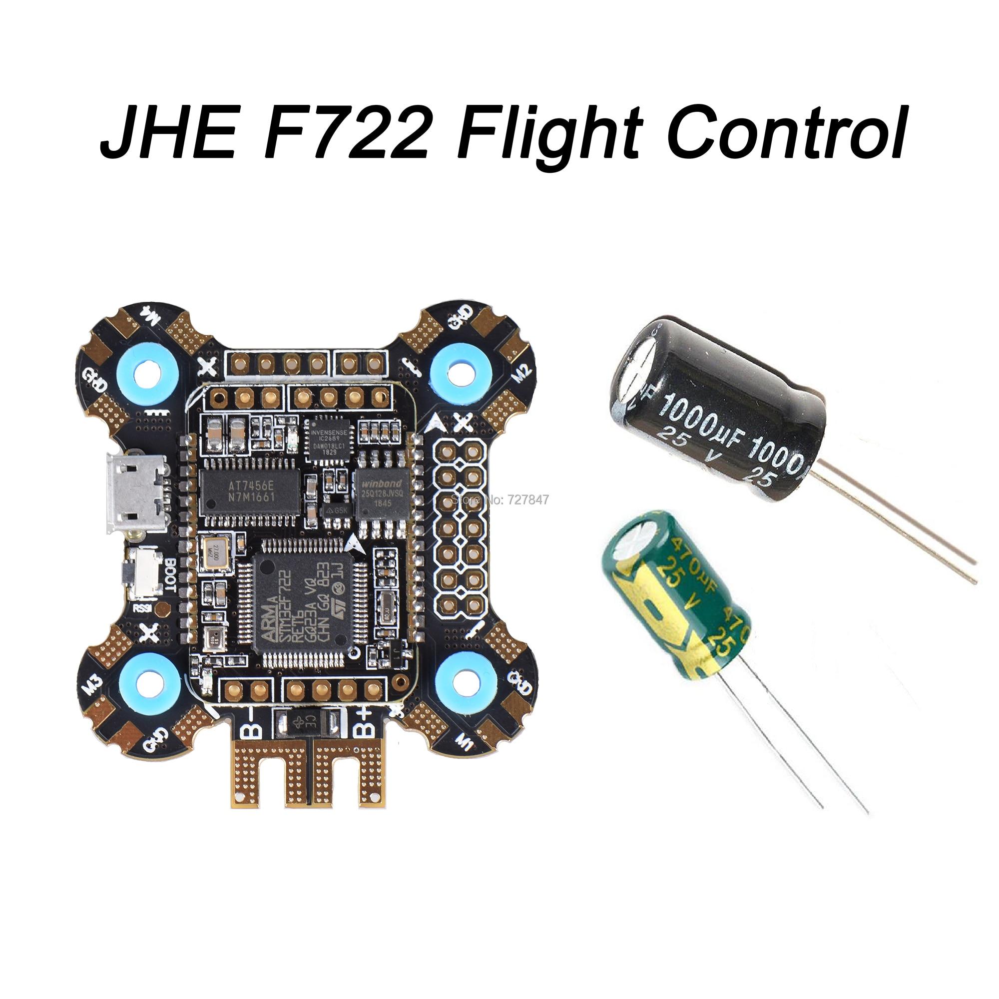 JHE F722 STM32F722 Flight Controller Built-in OSD BMP280 Barometer BEC 5V for RC Models Multicopter