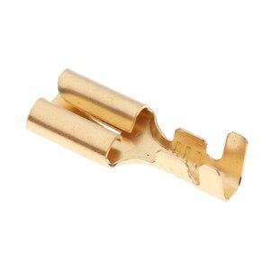 Image 3 - 20 piezas de soportes de enchufe de relé de 5 pines automotrices con terminales de cobre de 6,3mm