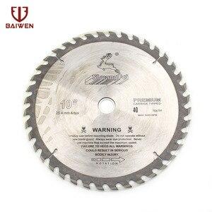 "Image 2 - 10"" 250mm Circular Saw Blade For Wood/Aluminum Cutting General Purpose 40 60 80 100 120 Teeth"