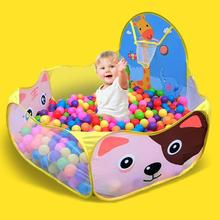 Manege for the baby Children Baby Boys Girls Ocean Ball Pit Pool Game arena Play Tent with Basketball Hoop a playpen Outdoor цены