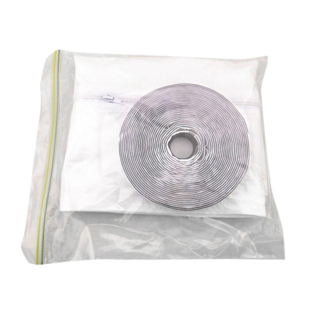 Кондиционер мягкой тканью уплотнения перегородка Водонепроницаемый Push-Pull оконный утеплитель матерчатая пластина герметизации оконная