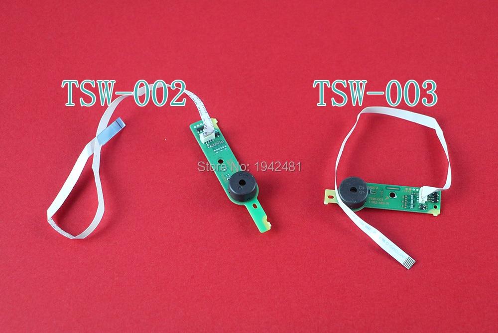 Original Board RF Power on/off Switch Poder Eject Button Board PCB com Cabo Flex TSW-003 TSW-002 para ps4 fino
