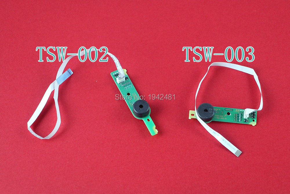 Original RF Board Power On/off Switch Power Eject Button PCB Board With Flex Cable TSW-003 TSW-002 For Ps4 Slim