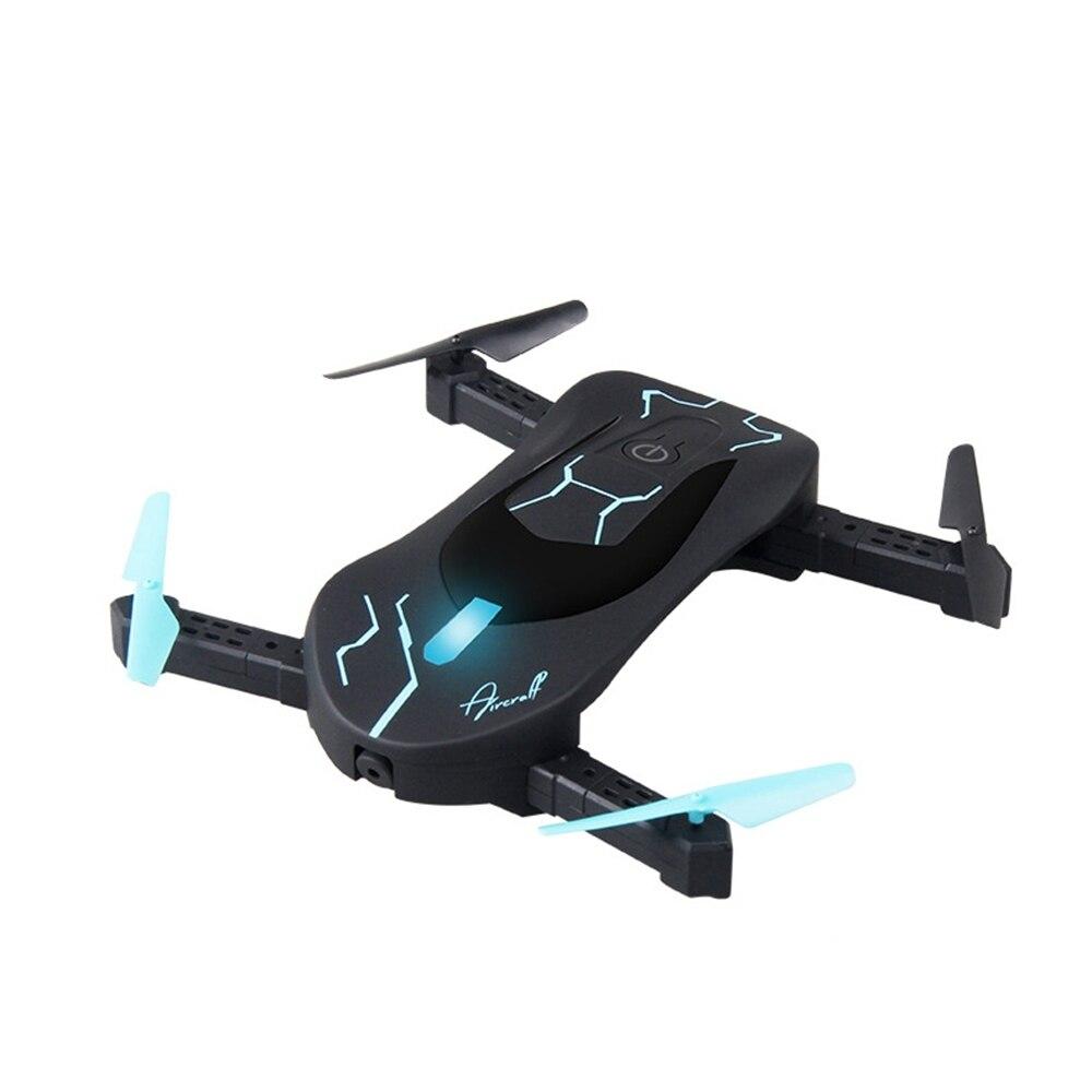Attop Xt 3c Pliable Drone Noir & blanc Couleur Dron Avec Caméra Hd Quatre Avions de L'axe App quadrirotor à télécommande Enfants Jouet