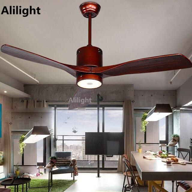 LED מודרני ברזל אקריל תקרת אוהדי עם אורות תליית אור עץ להב מאוורר מנורת עבור חדר שינה מבואה מקורה תאורה דקור מתקן