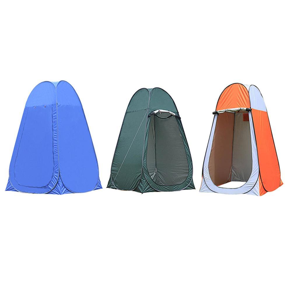 Tente extérieure Pop Up 190 T Polyester Camping douche salle de bains intimité toilette vestiaire abri simple mobile tente pliante