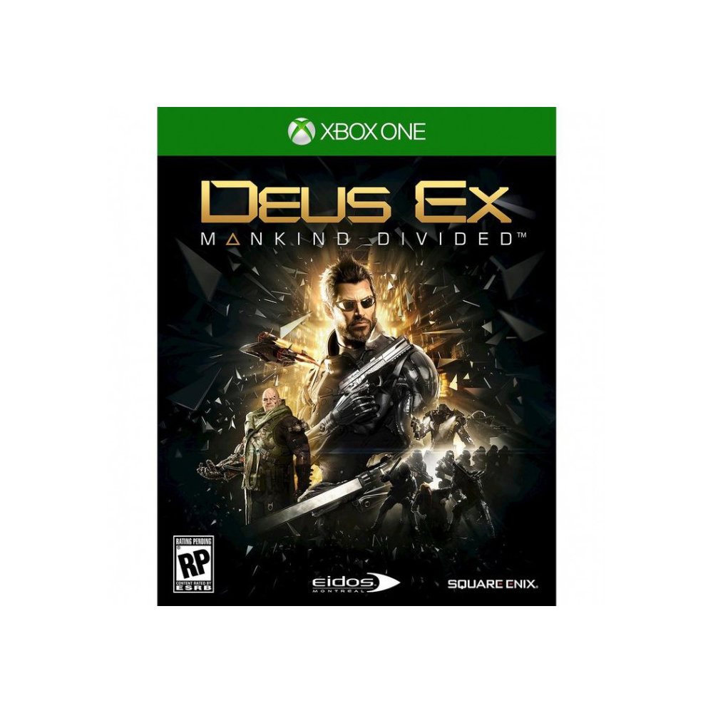 Game Deals xbox DEUS EX: MANKIND DIVIDED. Day one edition xbox One backpack xbox one
