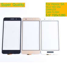 10Pcs/lot For Huawei Honor 5A CAM-L23 CAM-L03 CAM-L21 CAM-AL00 Touch Screen Panel Sensor Digitizer Front Glass Touchscreen Y6ii