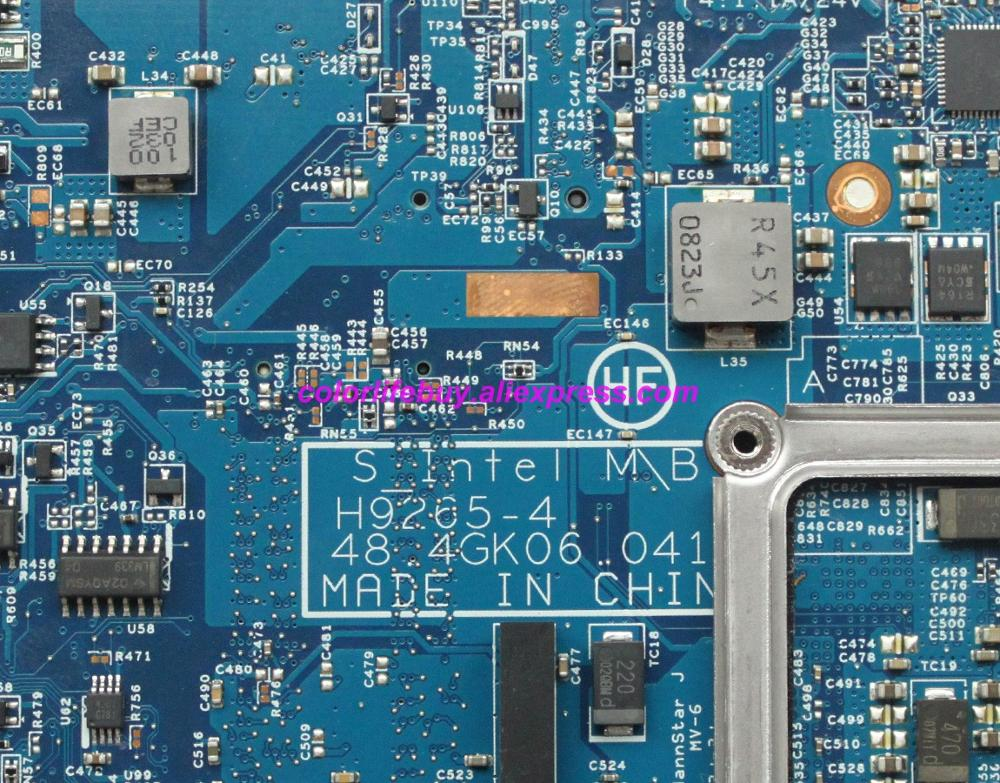 Image 4 - Genuine 598667 001 H9265 4 48.4GK06.041 Laptop Motherboard Mainboard for HP 4520S 4720S Series NoteBook PC-in Laptop Motherboard from Computer & Office