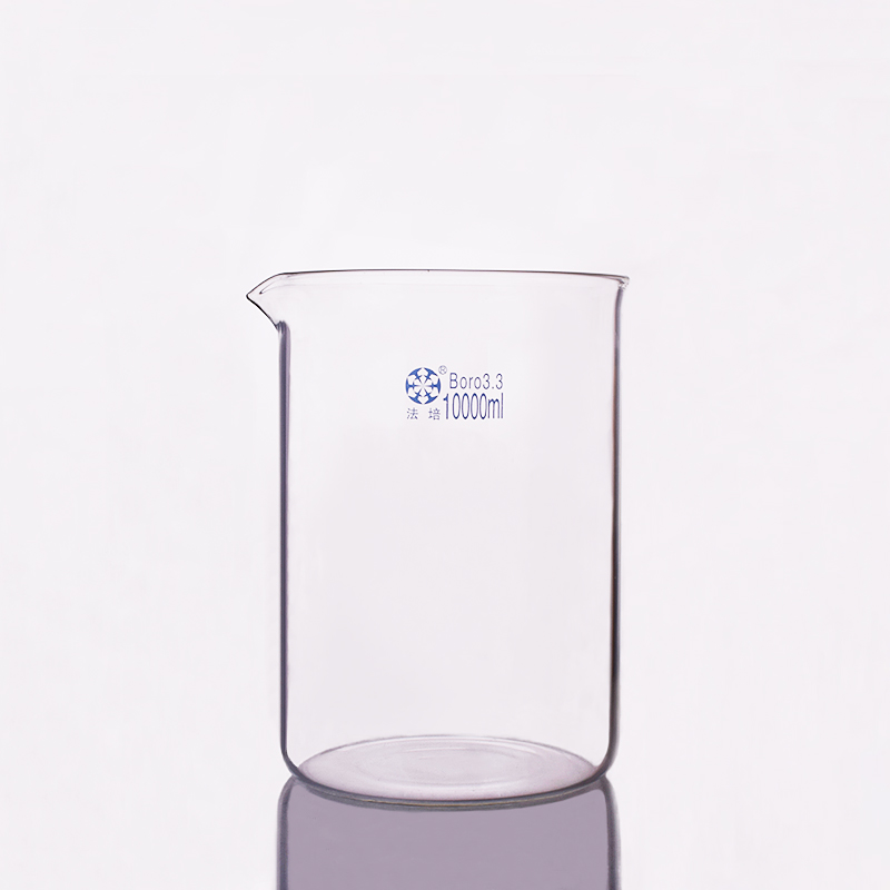 Beaker in low form,Capacity 10000ml,Outer diameter about 230mm,Height about 330mm,Laboratory beakerBeaker in low form,Capacity 10000ml,Outer diameter about 230mm,Height about 330mm,Laboratory beaker