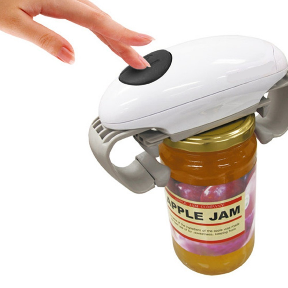 Automatic Jar Opener Openers Automatic Tin Opener Canned Electric Bottle Opener Jar Opener Kitchen Gadgets Tools