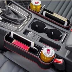 OHANEE samochodowy schowek w przerwie między siedzeniami box gap organizer portfel przy telefonie kubeczek na monety kieszenie na napoje akcesoria samochodowe układanie Tidying w Sprzątanie i organizacja od Samochody i motocykle na
