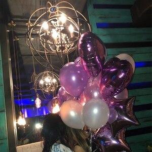 Image 5 - 14 pcs 12 inch 라텍스 18 inch 멀티 에어 풍선 생일 축하 헬륨 풍선 장식 웨딩 페스티벌 balon 파티 용품