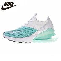 Nike AIR MAX 270 FLYKNIT женские кроссовки Нескользящие дышащие износостойкие легкие кроссовки # AH6803 301