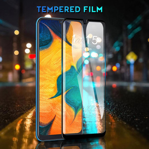Image 3 - 9D Curved Tempered Glass For Samsung Galaxy A10 A20 A30 A40 A50 A60 Protective Film on A 10 20 30 40 50 60 Screen Protector glas