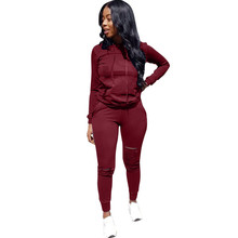 Xxxl Winter Overalls Spring Hoodies Pant Women Tracksuit Fashion Sexy 2 Piece Set Casual