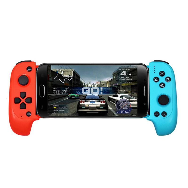 HobbyLane Wireless Bluetooth Game Controller Telescopic Gamepad Joystick For Samsung Xiaomi Huawei Android Phone PC d25 image