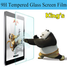 2PCs Protective Tempered Glass For Amazon Kindle Fire HD10 Kids Edition 2018 Tablet,Screen Protective Film And 4 Tools In 1 Film(China)