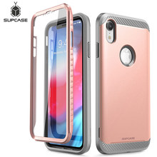 SUPCASE For iPhone XR Case 6.1 inch UB Neo Series Full Body Protective Dual Layer Armor Cover with Built in Screen Protector
