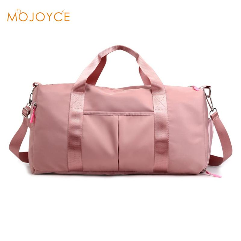 Outdoor Waterproof Nylon Sports Gym Bags Men Women Training Fitness Travel Handbag For Women Men Large Waterproof Nylon Handbag