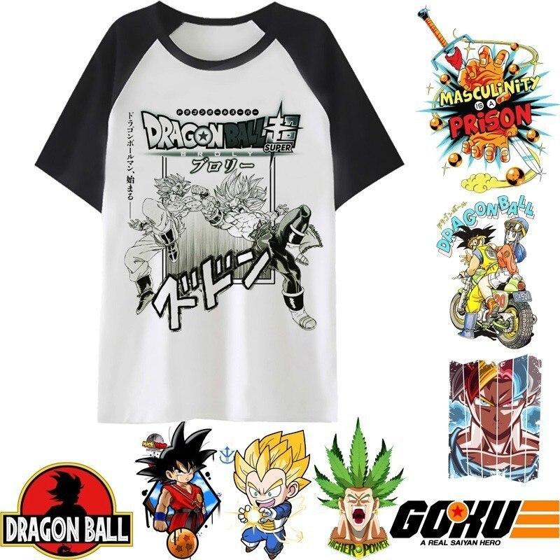 Dragon Ball T-shirt Mens Capsule Company T-shirt Super Saiyan Dragon Ball Z Dbz Son Goku T-shirt Vegeta T-shirt Mens Top Men's Clothing