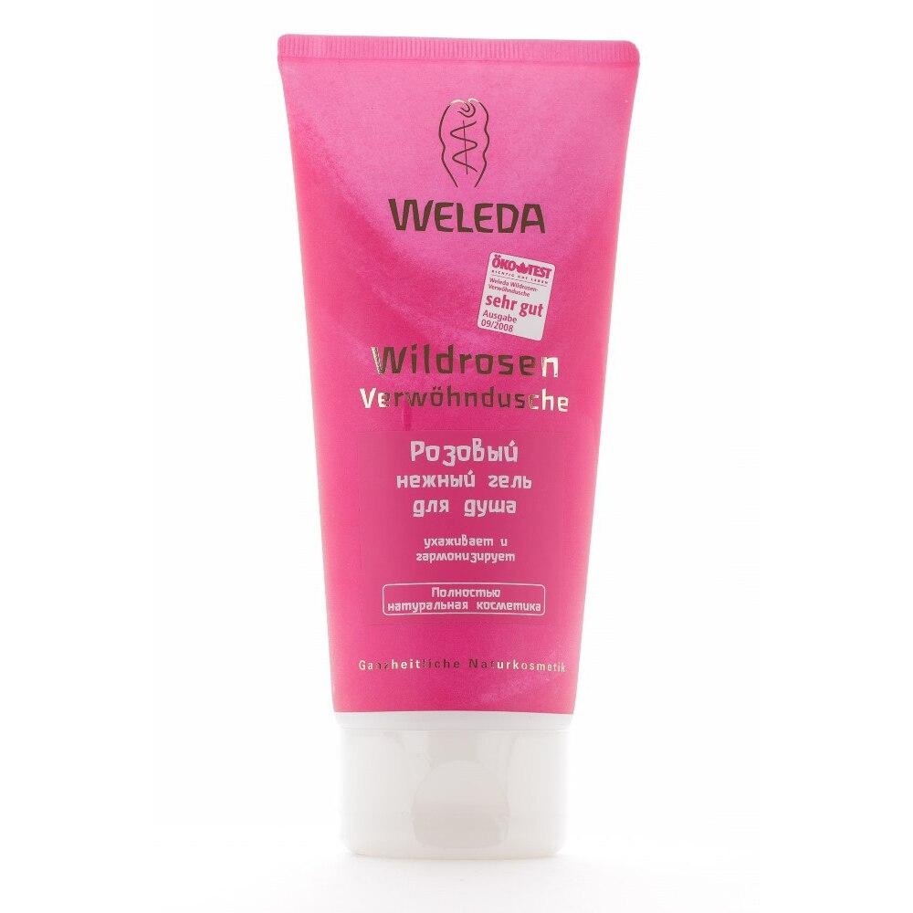 Scrubs & Bodys Treatments WELEDA 8826 body care shower gel oil scrub
