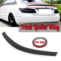 ABS Plastic Rear Trunk Spoiler Wing For Mercedes E Class W207 C207 For AMG For Coupe 2010 Up Rear Spoiler Rear Trunk Roof Wing