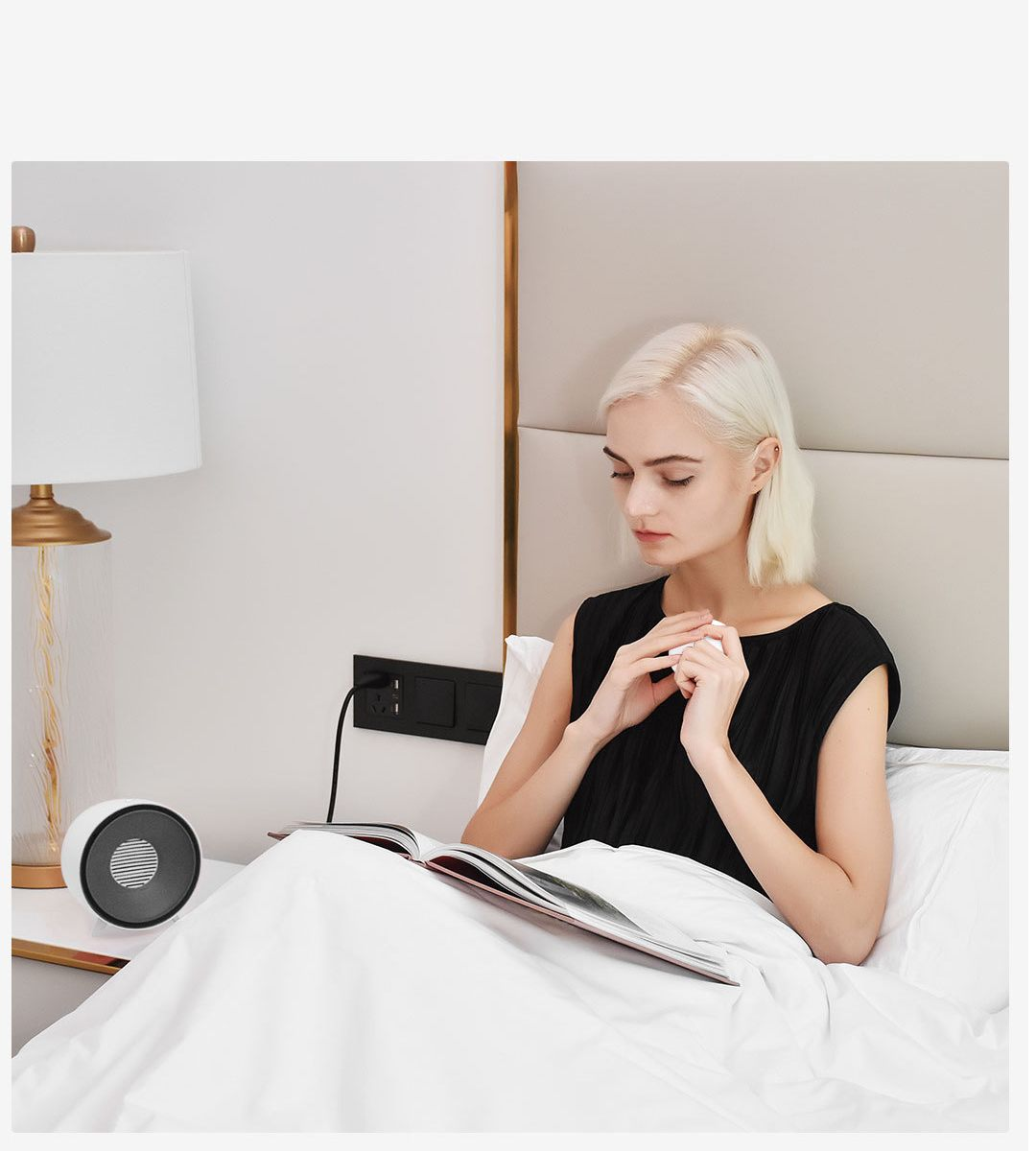 Image 5 - YOUPIN Happy Life Mini Electric Heater PTC Fast Heating W/ Protable Hand Warmer-in Electric Heaters from Home Appliances