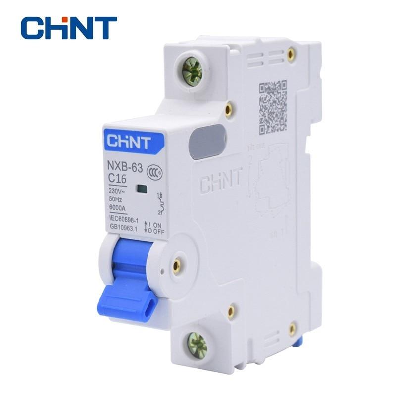1P 63A 230//400v~ 50HZ//60HZ Mini Circuit breaker MCB C45 C TYPE