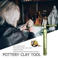 Pottery Clay with 20 Disc Designs Pottery Sculpture Modeling Fondant Extruder Polymer Clay Fimo Craft Gun Sculpting Cake Tool