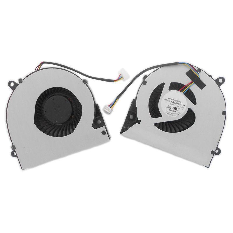 Original Laptop CPU Cooling Fan for Asus X75A X75V XJ4 X75VD X75 X75VC X75VM F75A KSB06105HB
