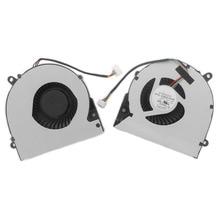 Оригинальный ноутбук Процессор охлаждающий вентилятор для ASUS X75A X75V XJ4 X75VD X75 X75VC X75VM F75A KSB06105HB-CA56 Тетрадь охладитель радиатора
