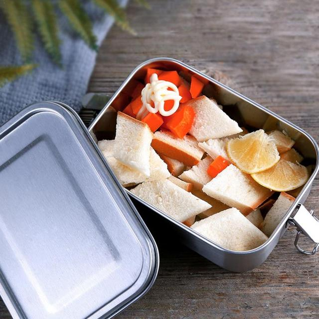 Planet Friendly Portable Stainless Steel Lunch Box