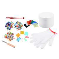 10pcs Professional Microwave Kiln Tool Set Fusing Supplies Glass Kit DIY Craft Jewelry Pendant Ceramic Accessories Supplies