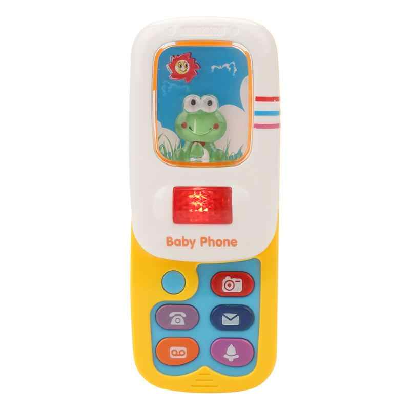 GMAXT Musical Toys,K1 Children Appease Mobile Phones with Music and Lights,Electronic Learning Toy for Kids,Baby Music Toy Set-Kids Educational Games Red