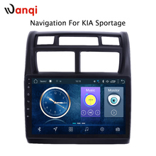 Hot Sale 9 Inch Android 8.1 Car Dvd Gps Player For KIA Sportage 2007-2013 built-in Radio Video Navigation with Bt Wifi RDS