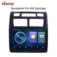 Горячая продажа 9 дюймов Android 8,1 автомобильный Dvd Gps плеер для KIA Sportage 2007-2013 Встроенная Радио Видео навигация с Bt Wifi RDS