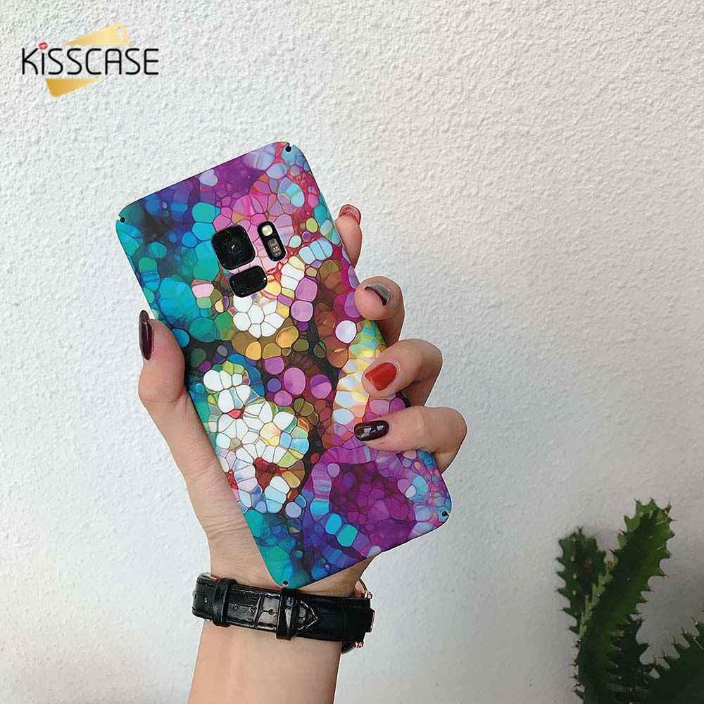 KISSCASE para Huawei Nova 4 P30 Pro Lite duro cubierta de la PC para Huawei P inteligente Y7 Pro 2019 de color funda de teléfono móvil estampada