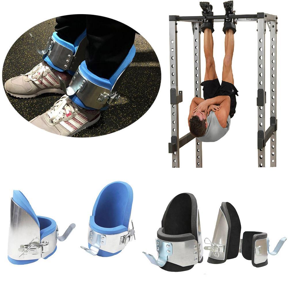 Entraînement Anti-gravité inversé Sport formation équipement de Fitness Gym Aluminium cheville gravité Inversion thérapie bottes chaussures