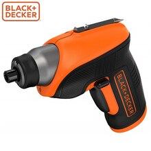 Аккумуляторная отвертка Black+Decker CS3652LC-XK 3,6В
