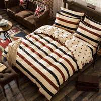 1 шт., двойное одеяло с изображением арбузной башни, подарочный набор для дома из полиэстера, простая хлопковая простыня с геометрическим уз...