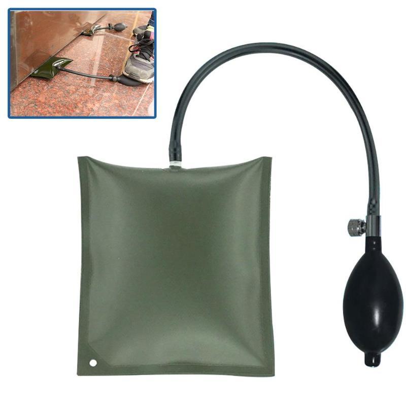 1x Inflatable Air Pump Wedge Air Bag Shim Clamp for Car Windows Door Repair Tool